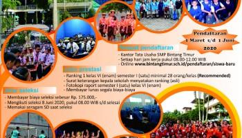 Pendaftaran Siswa Baru TP. 2020/2021