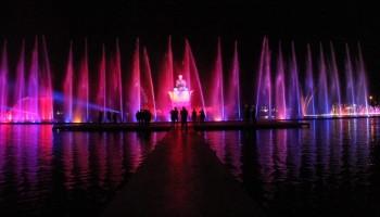 Taman Air Mancur Sri Baduga di Purwakarta Diresmikan Malam Nanti